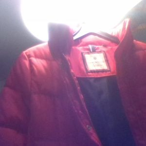 Tommy Hilfiger gorgeous red womens  winter jacket